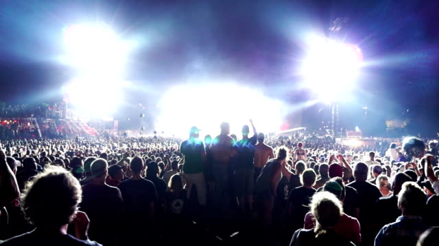Outdoor Music Festival Montage video