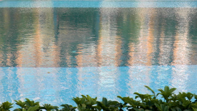 outdoor swimming pool video