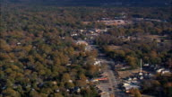 Outskirts Of Columbia  - Aerial View - South Carolina,  Richland County,  United States video