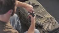Over Head Cleaning .45 Caliber Semi-Automatic Gun video