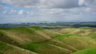 Overcast Day in Rural Hawkes Bay, New Zealand - Time Lapse video