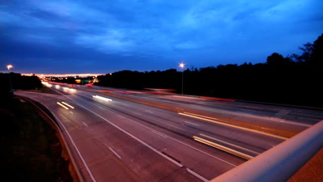 Overpass traffic video