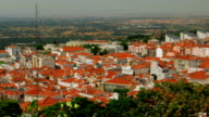 Overview of the Palmela Village from the Castle in Setubal, Portugal video