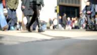 oxford circus london traffic video