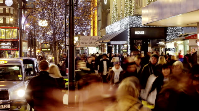 Oxford street Christmas      TR  BU video