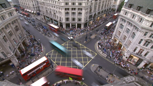 Oxford Street, London - HD and SD video