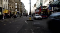 Oxford Street on sunday morning,  London video
