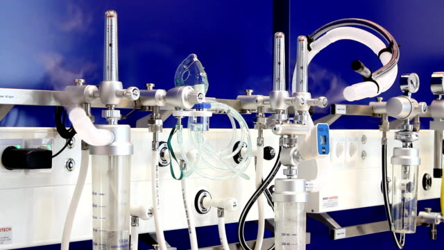 Oxygen therapy equipment (HD) video