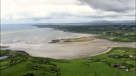 Oyster Beds In Donegal Bay  - Aerial View - Ulster, Donegal, Ireland video