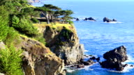 Pacific Coast Highway Route 1 scenic view video