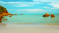 Pacific morning sea video