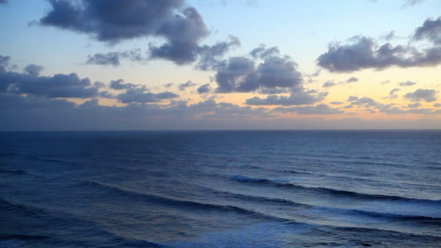 HD pacific ocean sunset video