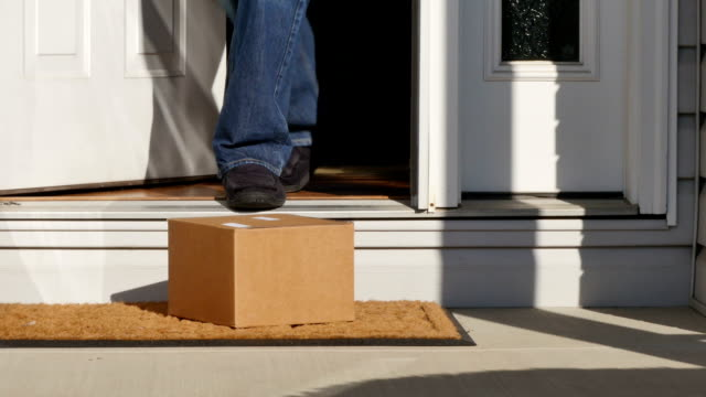 Package on Doorstep video