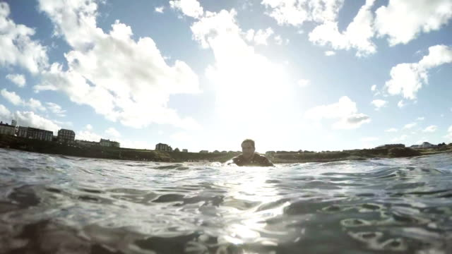Paddling Through the Waves video