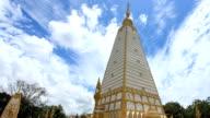 Pagoda and sky video