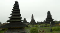 WS Pagodas At Mother Temple Of Besakih video