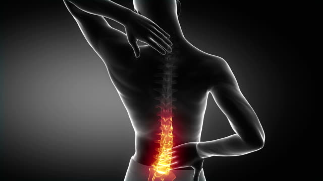 Pain in spine proceed to neck region video