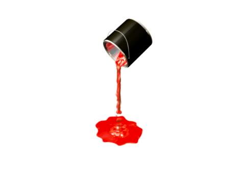 Paint Bucket Spilling Animation (NTSC) video
