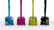 CMYK Paint Pots video