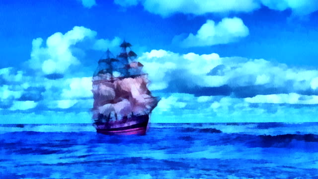 Painted Ship. video