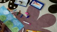 Painter Young Girl Artist video