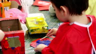 Painting at nursery video