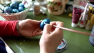 Painting Easter Eggs video