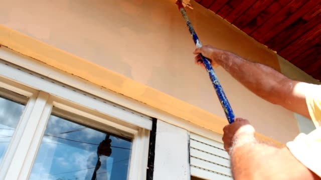 Painting home facade video