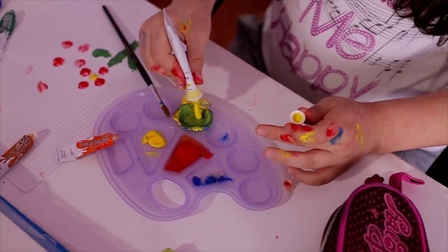 painting with tempera video