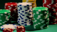 Pair of aces brings victory to poker player, gambling addiction video