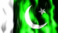 Pakistan Flag Animation video