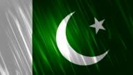 Pakistan Flag Loopable Animation video
