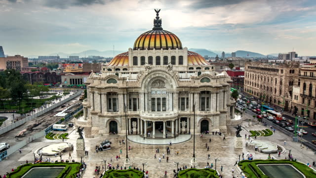 Palace Bellas Artes, Mexico City video