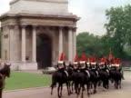 Palace Guards on Horseback video