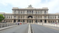 Palace of Justice in Rome, Italy video