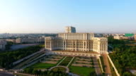 Palace of the Parliament Aerial video