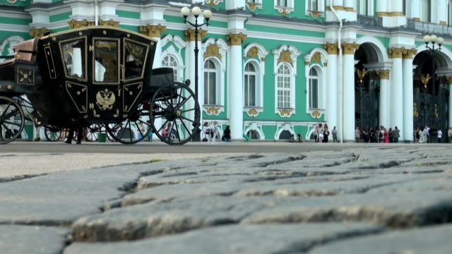 Palace Square in Petersburg. video