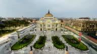 Palacio de Bellas Artes in Mexico City video