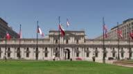 Palacio de La Moneda - Santiago, Chile video
