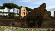Palatine Hill Ruins: the Stadium of Domitian video