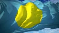 Palau Flag video