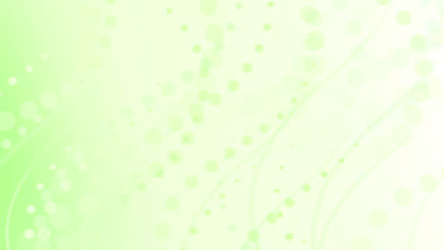 pale lime green curves and circles abstract background loop video