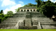 Palenque Mayan Pyramid, Mexico video