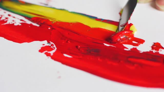 Palette knife tone paint video