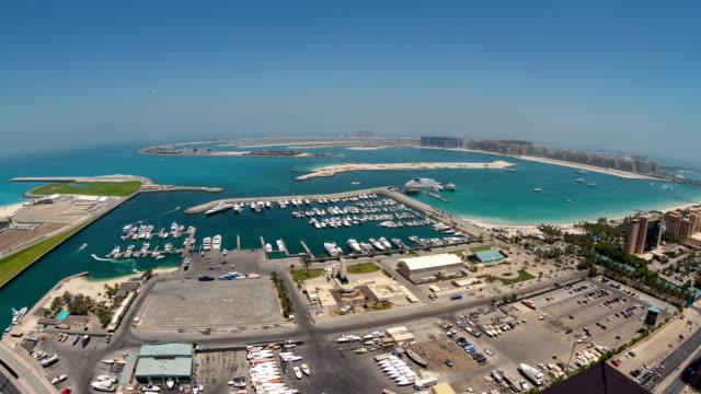 Palm Jumeirah Dubai Time Lapse video