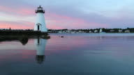Palmer Island Lighthouse, New Bedford, Massachusetts video