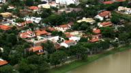 Pampulha District  - Aerial View - Minas Gerais, Belo Horizonte, Brazil video