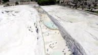 Pamukkale aerial video