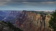 Pan at Grand Canyon Edge video