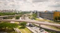 Pan Inland Expressway in Daytime video